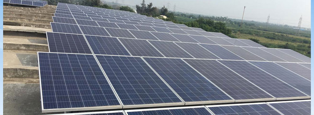 100kW Ninans Pvt Ltd, Spicot Tuticorin
